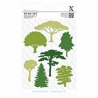 Matrite A5 Woodland Trees, 7buc, Xcut