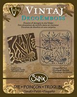 Matrita Sizzix Vintaj DecoEmboss - Dragonfly Pond