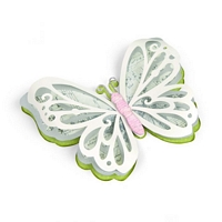 Matrita Sizzix Thinlits Large Delicate Butterfly, 3buc
