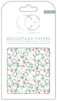 Hartie decoupage Sun Kissed, 35x40cm, 3buc, Craft Consortium