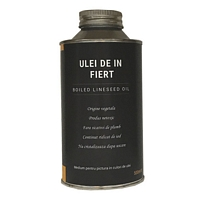 Ulei de in fiert, Boiled lineseed oil, 500ml, CraftMall
