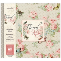 Album scrapbooking 12x12in, Floral Muse, Trimcraft