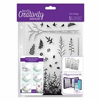 Stampile acrilice A5, Forest, 20 buc, Docrafts