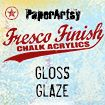 Medium Fresco Finish Gloss Glaze, PaperArtsy