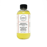 Ulei rafinat de in, Refined Linseed Oil, 250 ml, Gamblin