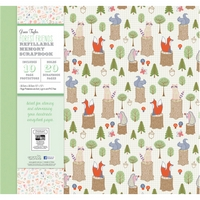 Album scrapbooking 12x12in, Grace Taylor Forest Friends, Trimcraft