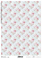 Hartie decoupage Soft shabby chic, A4, 40gmp, ITD-S213