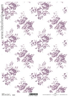 Hartie decoupage Soft shabby chic, A4, 40gmp, ITD-S219
