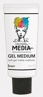 Gel Medium Soft Mat, Media, Dina Wakleys, 2oz, Ranger Ink