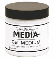 Gel Medium Soft Mat, Media, Dina Wakleys, 4oz, Ranger Ink