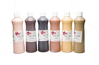 Culori Tempera Guasa Ready Mix, 600ml, set 6 buc people, Scola