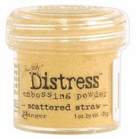 Pudra embosare Distress, Scattered Straw, 31g, Ranger Ink
