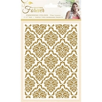 Placa embosare Sara Signature Collection Together Forever 5x7in, Decadent Damask, Crafters Companion