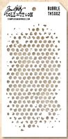 Sablon Tim Holtz Bubble Layered Stencil, Stampers Anonymous