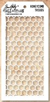 Sablon Tim Holtz Honeycomb Layered Stencil, Stampers Anonymous