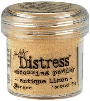 Pudra embosare Distress, Antique Linen, 31g, Ranger Ink