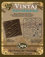 Matrita Sizzix Vintaj DecoEmboss - Distressed Textures