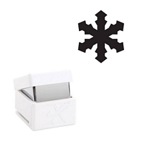 Perforator Small Palm Icy Snowflake, Xcut
